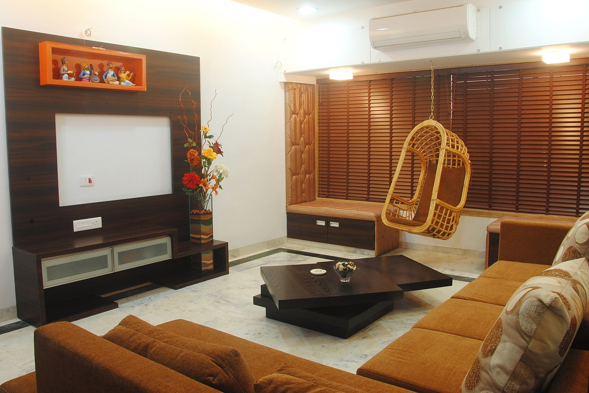 Gallery interior designers mumbai india architects for Residential living room interior design