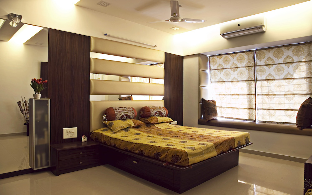 Gallery interior designers mumbai india architects - Interior design for bedroom in india ...