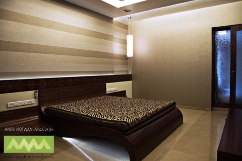 Apartment Mumbai Master Bedroom Designers